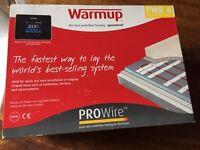 Underfloor heating - warmup prowire 4