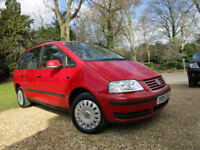 2009 Volkswagen Sharan 2.0 TDI S 140 BHP TURBO DIESEL MPV 7 SEATER 2 OWNERS ECO