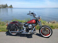 Harley softail springer