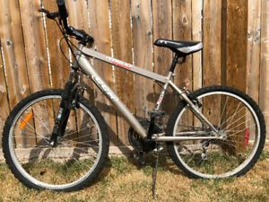 "16"" bike, great condition, front suspension, adjustable"