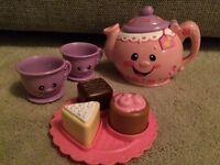 Fisher Price Talking Tea Set