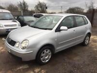 VW POLO 2004 1.4 MY TWIST PETROL - AUTOMATIC - LOW MILEAGE - 1 PREVIOUS OWNER
