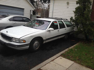 1996 Buick Roadmaster Leather interior Wagon