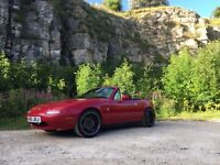 Mx5 1.6, 115bhp, LSD, import, clean car! Mot July 2017 - Offers/swaps