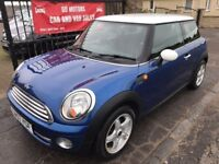 2007 (57) MINI COOPER, 82000, WARRANTY, NOT POLO ASTRA FIESTA GOLF A3 BMW