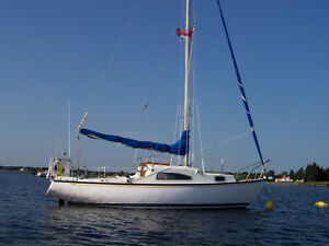 24 Foot Sailboat