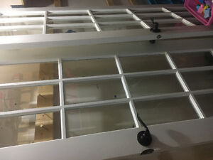 *MOVING SALE* Two French Doors w Hardware