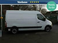 2017 Vauxhall Movano 2.3 CDTI H2 130ps Medium Wheelbase L2H2 High Roof PANEL VA