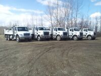 Gravel Trucks for Hire