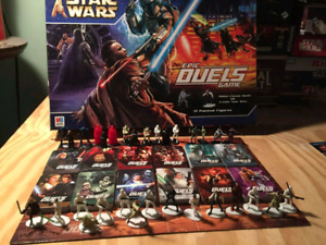 Rare Star wars epic duels board game