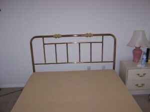 QUEEN SIZE BED FRAME AND BOXSPRING FOR SALE