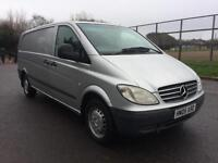 2005 Mercedes-Benz Vito VAN SILVER 2.1 DIESEL COMPLETE WITH M.O.T AND WARRANTY