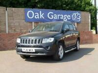 2012 Jeep Compass 2.1 CRD LIMITED 2WD 5d 134 BHP Estate Diesel Manual