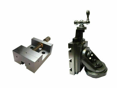Lathe Vertical Milling Slide - Swivel Base 4 X 5 With 63 Mm Grinding Vice