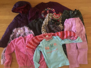 Skirt, jacket, pants, jeans , t-sh for 4-5 years old + Free bag