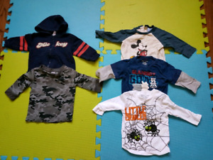 Baby Boy size 6 to 12 months clothing lot