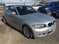 2010 BMW 1 SERIES 118D M SPORT HATCHBACK DIESEL