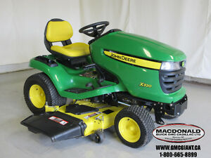 2011 John Deere X320 Lawn Tractor with 54 inch Deck
