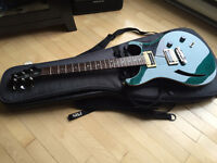"PRS SE Custom Hollow-Body ""Matteo Blue"" Echange/trade"