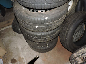 215/60/R16 infinity winter hero  tires like brand new only 375