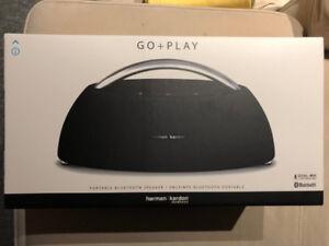 Great Harmon Kardon GO+PLAY Black GO+PLAY Portable BT Speaker.
