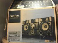 Sony Hi-Fi MHC-EC709iP with original box and receipt