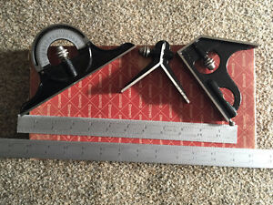 "Starrett Combination Square - comes with 12"" and 24"" blade"