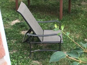 2 reclining chairs  outdoor