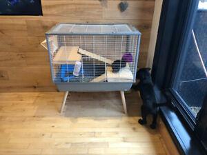 Cage pour lapin ou rongeur