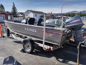 Aluminum Lund Boat
