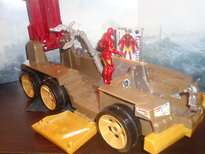 Vehicles and Figures of Marvel