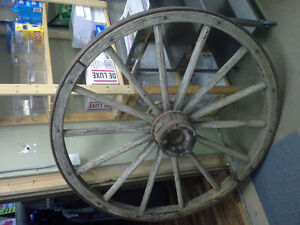 Large 54 inch Wagon Wheel for sale...