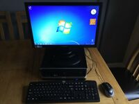 Intel Core i3 Desktop Computer with LED Monitor *Like Brand New*