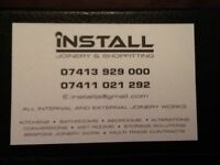 Install joinery & shopfitting