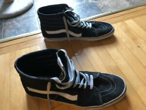 Barely worn size 14 mens high top Vans for sale!