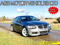 2007 AUTO AUTOMATIC BMW 325 2.5 i SE 6 CYLINDER COUPE E92 AS 330 M-SPORT OPTIONS