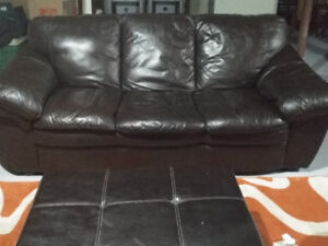 Sofa Set (3 piece with ottoman)