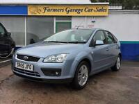 Ford Focus 1.6 2005 Ghia Petrol In Blue
