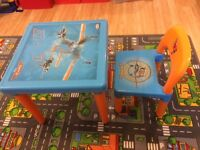 Disney Planes table & chair