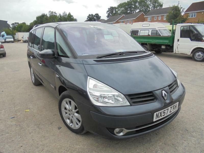 renault grand espace 150 fap auto dynamique 7 seater 2007 57 reg in cleckheaton west. Black Bedroom Furniture Sets. Home Design Ideas