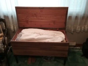 Mahogany hope chest for sale