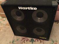Hartke 4x10 bass cab
