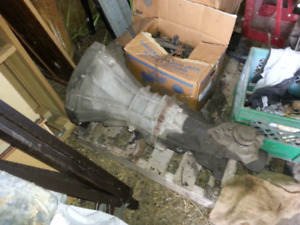 1990 Nissan truck parts. Transmission and misc.