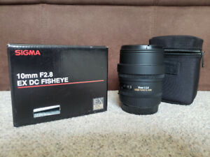Sigma 10mm 2.8 for Canon