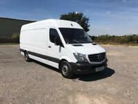 Mercedes-Benz Sprinter 313 LWB H/R EURO 5 DIESEL MANUAL WHITE (2016)