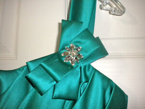 Turquoise Party Dress Kitchener / Waterloo Kitchener Area image 2