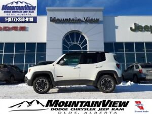 2016 Jeep Renegade Trailhawk  - Bluetooth - Low Mileage