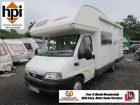 CI Riviera 121 Lifestyle Motorhome - One Owner, Low Mileage