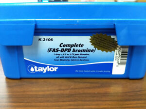 Taylor K2106 - Complete FAS-DPD Bromine Test Kit