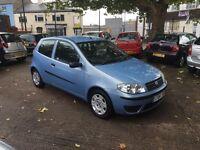 Fiat punto 1.2 active blue long MOT 2004 only 77,000miles